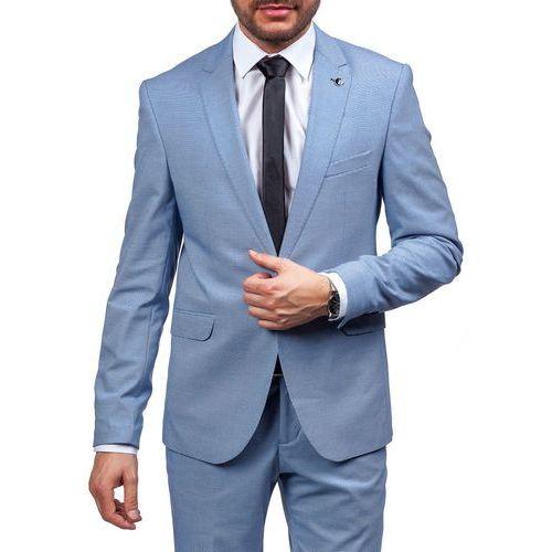 Niebieski garnitur męski Bolf 5005-3, niebieski