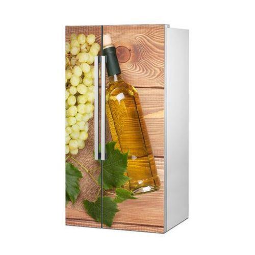Stikero Mata magnetyczna na lodówkę side by side - aromatyczne białe wino 0711