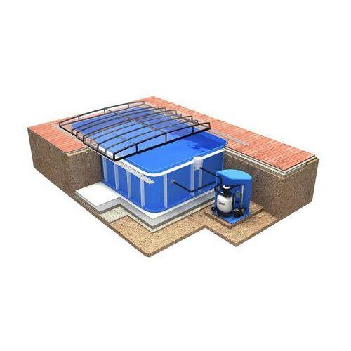 Zestawy basenowe Quattro A Casablanca Infinity Evo Carbon Po lewej stronie