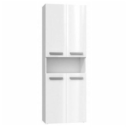 Producent: elior Szafka łazienkowa malmo 5x - biały połysk