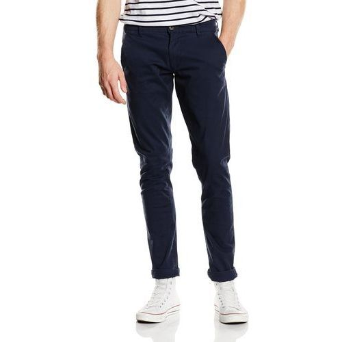 Selected Homme Men's Threeparis Stretch Chino Pants - Navy - W36/L34