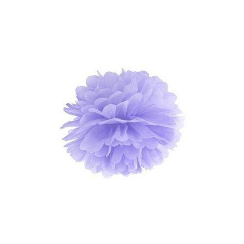 Dekoracja wisząca pompon kwiat - liliowa - 25 cm - 1 szt. marki Ap