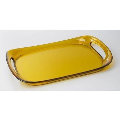 - taca glamour 46 x 30 cm - żółta marki Casa bugatti