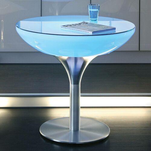 Moree Świecący na kolorowo stół lounge, wysokość 75 cm (4260218360754)