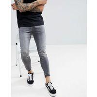 Pull&bear regular slim fit comfort jeans in grey - grey