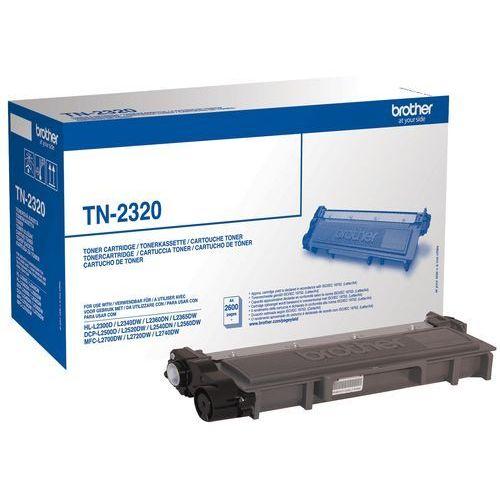 BROTHER Toner Czarny TN2320=TN-2320, 2600 str.- wysyłka dziś do godz.18:30. wysyłamy jak na wczoraj!, TN2320