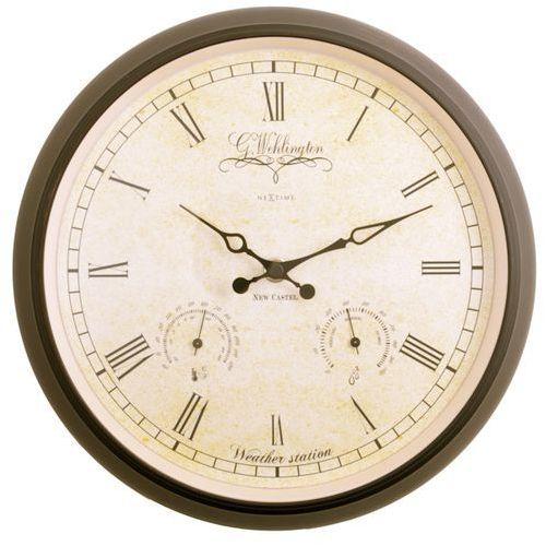 Zegar stacja pogodowa wehlington 25 cm marki Nextime