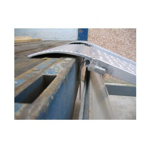 Metalmec Rampa najazdowa prowadząca dla minimalnej szerokości koła lub taśmy 300 mm