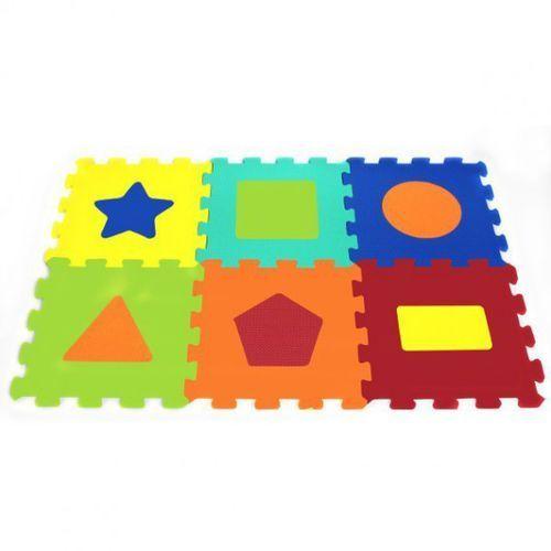 6 el. puzzle piankowe kształty marki Artyk