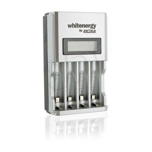 WHITENERGY ŁADOWARKA 4xAA/AAA LCD 1800mA, 06455