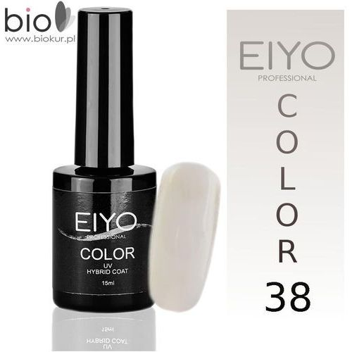 Lakier hybrydowy EIYO Natural - Biały Ślubny - nr 38 - 15 ml