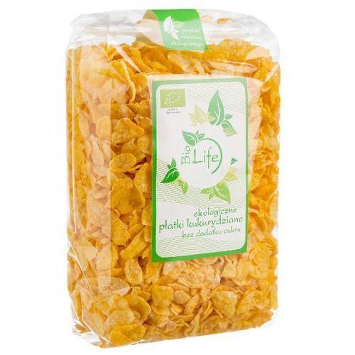 200g płatki kukurydziane bio | darmowa dostawa od 200 zł wyprodukowany przez Biolife