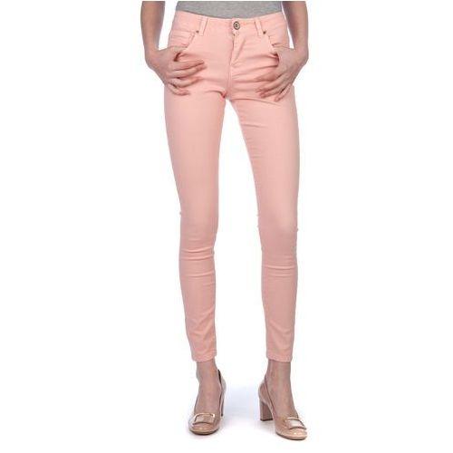 jeansy damskie natpink m różowy marki Brave soul