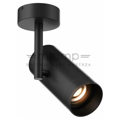 Zumaline Spot lampa sufitowa tori 20015-bk metalowa oprawa regulowana tuba czarna (2011005668339)