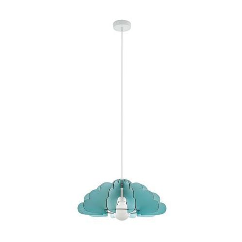 Lampa wisząca chieti 97703 sufitowa dziecięca 1x60w e27 niebieska marki Eglo