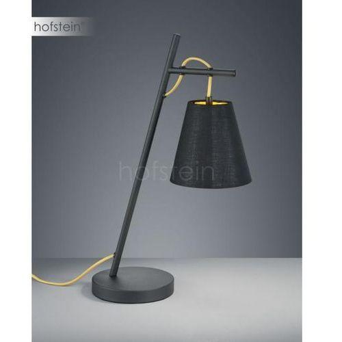 Trio Nocna lampa stołowa andreus 507500179 stojąca lampka biurkowa czarna (4017807382945)