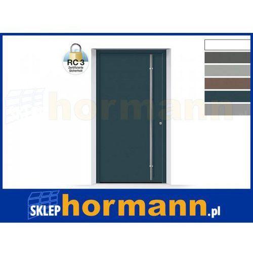 Hormann Drzwi aluminiowe thermosafe 2018, wzór 860, kolor do wyboru, przeciwwłamaniowe rc 3