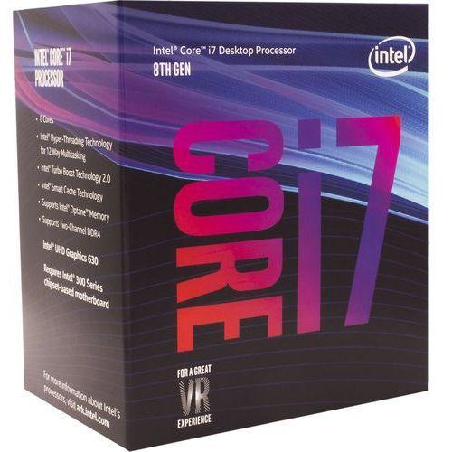 Intel Core i7-8700K 3,7GHz 12MB Box - produkt w magazynie - szybka wysyłka!