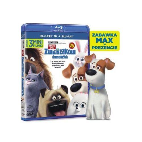 Sekretne życie zwierzaków domowych 3D (2BD) + Zabawka