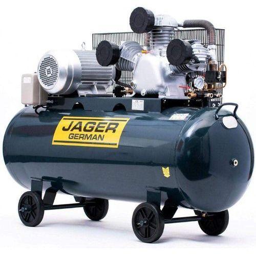 Sprężarka powietrza 300l 5.5kw 1250l/min 400v sprężarka powietrza tłokowa kompresor tłokowy olejowy mocna rzecz marki Jager german