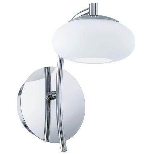 Eglo Kinkiet aleandro 91754 1x6w led biały/chrom (9002759917548)