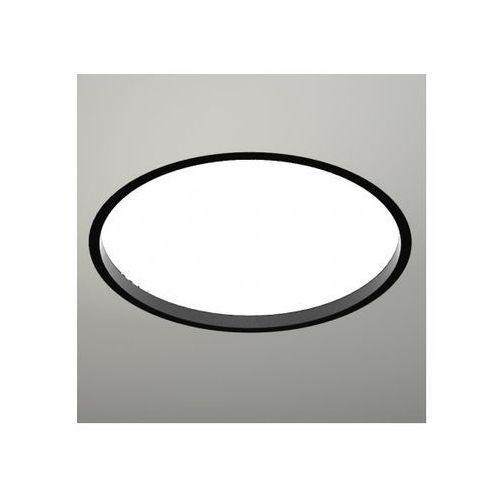 Wpuszczana LAMPA sufitowa OPRAWA podtynkowa HOFU 3318-B/E27/CZ Shilo okrągła czarny