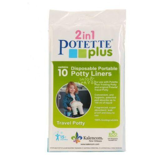 10 Jednorazowych Wkładów do Nocnika Potette Plus