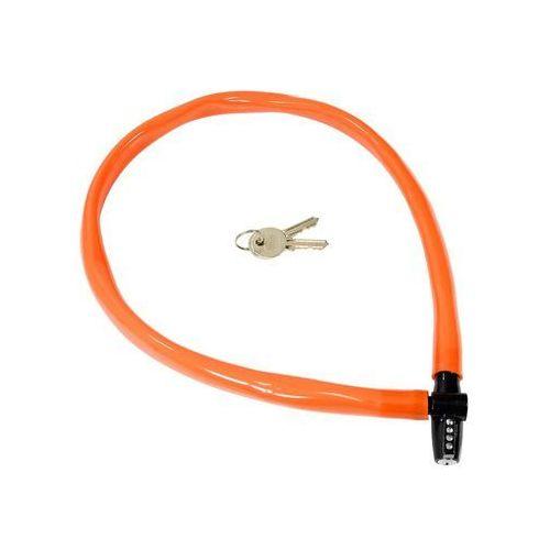 Kryptonite Zapięcie, linka keeper 665 kc 6mm/65cm pomarańczowy (2010000013014)