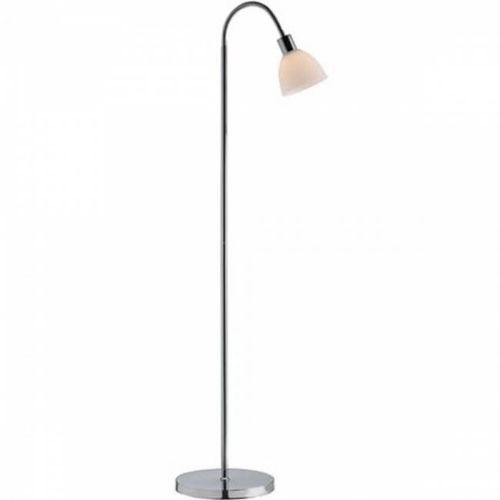 Nordlux ray lampa stojąca chrom, 1-punktowy - nowoczesny/skandynawski - obszar wewnętrzny - ray - czas dostawy: od 10-14 dni roboczych (5701581239289)