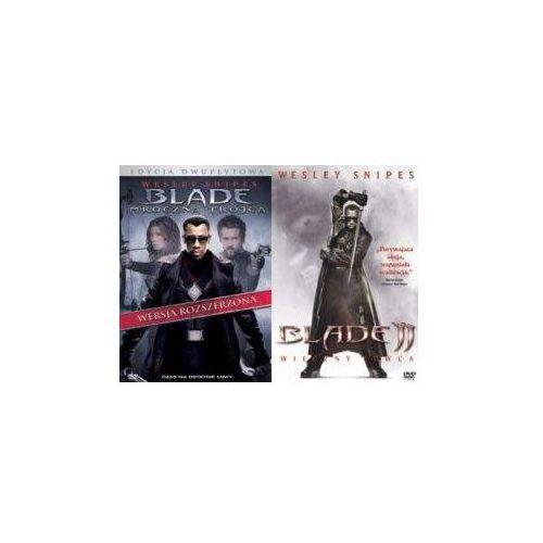 Galapagos Blade: mroczna trójca / blade: wieczny łowca 2 (płyta dvd)