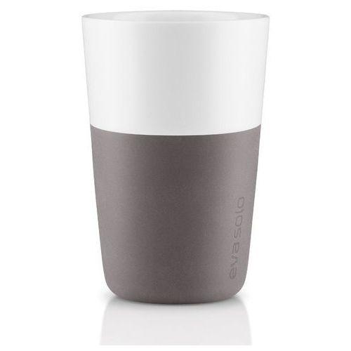 Eva solo - filiżanka do caffe latte 2 szt, - szara