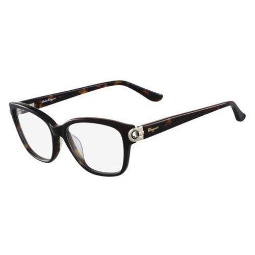 Salvatore ferragamo Okulary korekcyjne  sf 2734 214