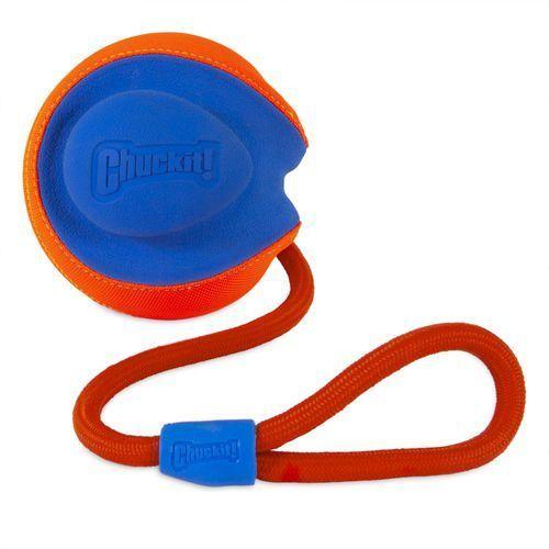 Chuckit! rope fetch piłka dla psa - l: Ø 14 cm| darmowa dostawa od 89 zł + promocje od zooplus!| -5% rabat dla nowych klientów