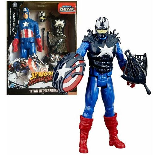 Hasbro Figurka marvel venomized kapitan ameryka (5010993670130)