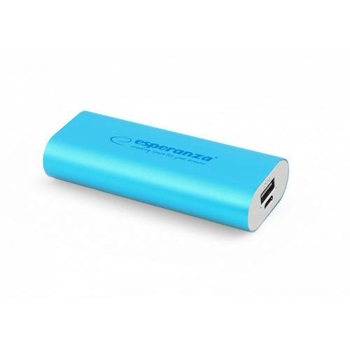 Esperanza power bank hadron 4400mah niebieski darmowa dostawa do 400 salonów !! (5901299910542)