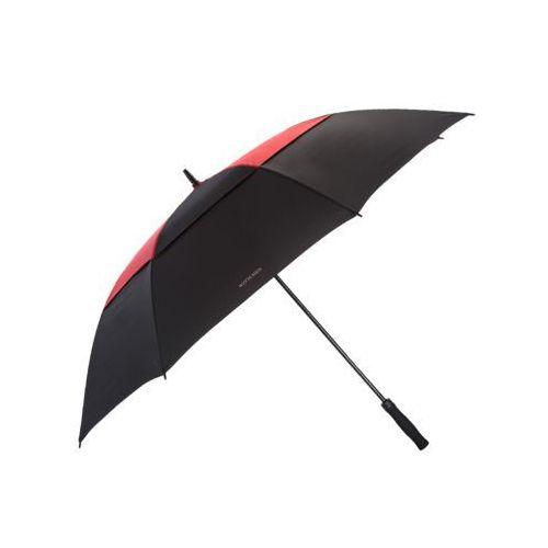 Wittchen Parasol długi czarno-czerwony