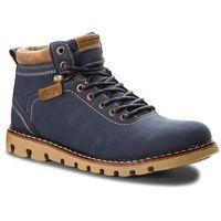 Trapery LANETTI - MP07-16777-01 Navy, kolor niebieski