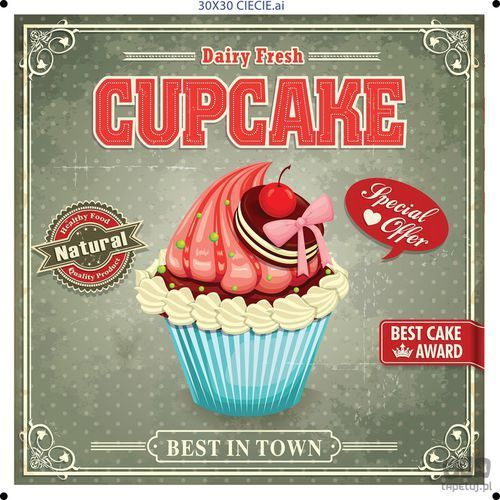 Consalnet Obraz cupcake ptd077t1