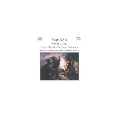 Wagner Richard: Overtures - Faust-rienzi-christoph Columbus (0747313205523)
