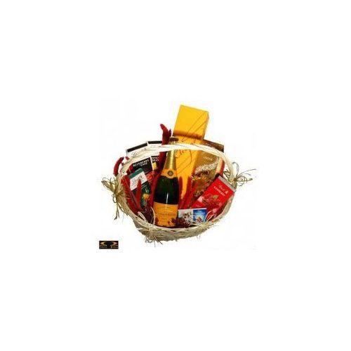Smacza jama Kosz delikatesowy lindt prezentuje + szampan (5902888418852)