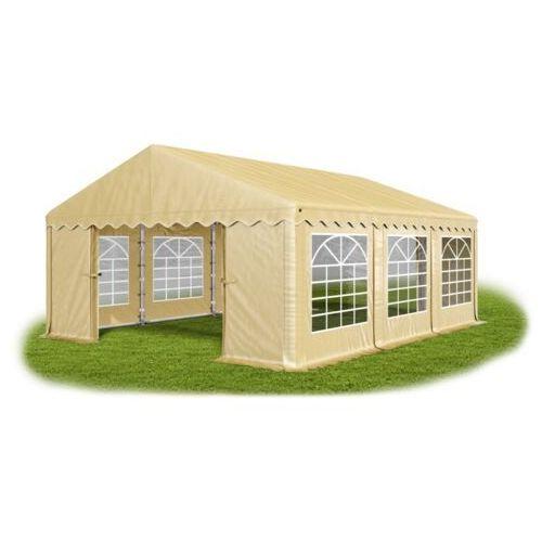 Namiot 4x6x2, solidny namiot bankietowy, winter/pe 24m2 - 4m x 6m x 2m marki Das company