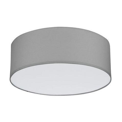 Tk lighting Plafon rondo szary śr. 40 cm