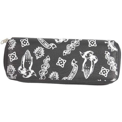 portfel SANTA CRUZ - Pray Pattern Black Black (BLACK)