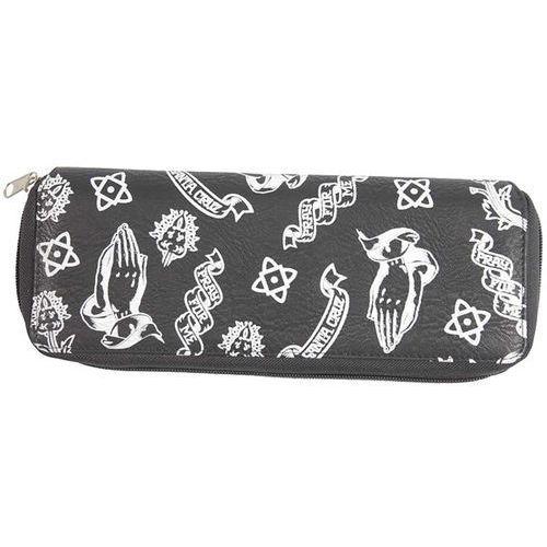 Santa cruz Portfel - pray pattern black black (black) rozmiar: os