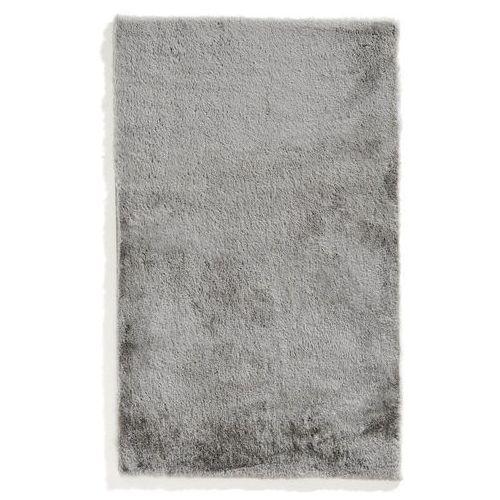 Dywaniki łazienkowe z miękkiego materiału srebrny marki Bonprix