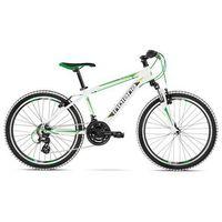 """Rower INDIANA Pulser 2.4 M14"""" Biało-Zielono-Limonkowy + DARMOWY TRANSPORT! od ELECTRO.pl"""