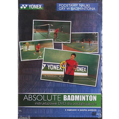 dvd absolute badminton wyprodukowany przez Yonex