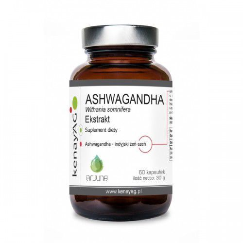 Ashwagandha 500 mg (60 kaps.) Arjuna Natural Extracts (5900672153088)