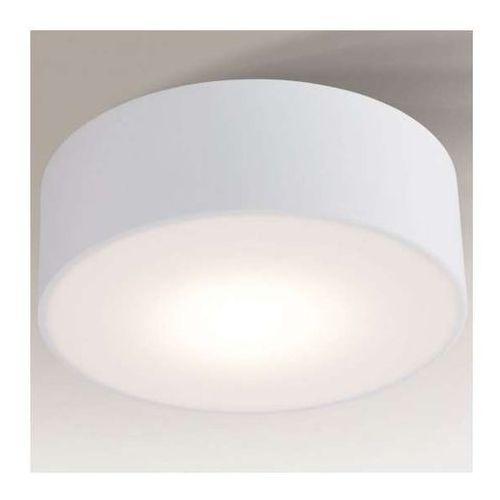 Plafon lampa sufitowa zama 8011/gx53/bi natynkowa oprawa okrągła ip44 biała marki Shilo