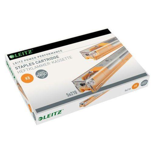 Kasetki ze zszywkami Leitz Power Performance K8 5x210szt.